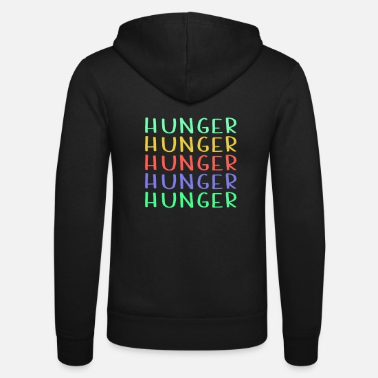 Branché Sweat-shirts - Shop Colorful Hunger Design - Veste à capuche unisexe noir