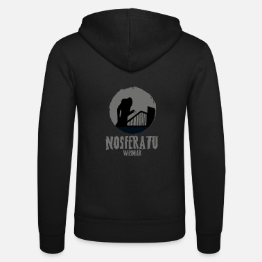 Cult Nosferatu horror movie cult - Unisex Zip Hoodie