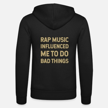 rap, rapper, hip hop, gift idea, rap battle - Unisex Zip Hoodie