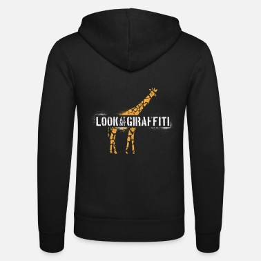Neck Look At My Giraffiti - Unisex Zip Hoodie