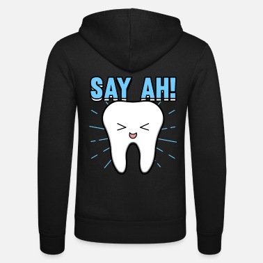 Dentist dental assistant orthodontist profession - Unisex Zip Hoodie