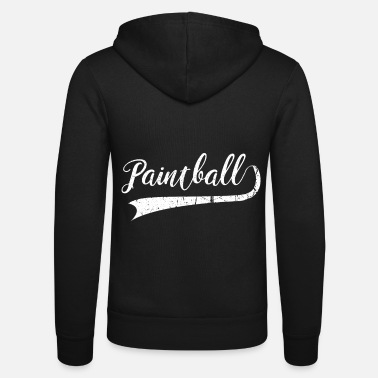 Paintball Paintball paintballer - Unisex Zip Hoodie