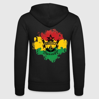 Zimbabwe Zimbabwe - Unisex Hooded Jacket by Bella + Canvas