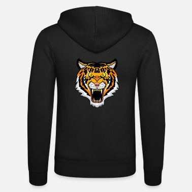 Bengal Tiger Bengal tiger - Unisex Hooded Jacket by Bella + Canvas