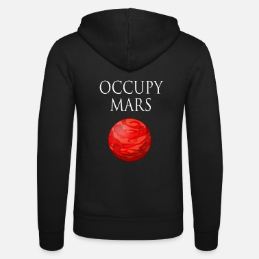 Occupy Occupy Mars Space - Zip hoodie unisex