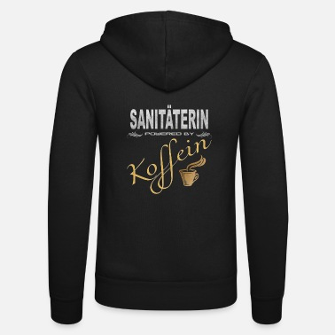 Rettung Sanitäterin powered by Koffein Shirt - Unisex Kapuzenjacke