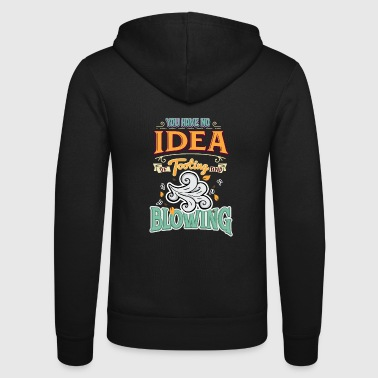 Blasen Funny Denglish saying Denglisch sayings - Unisex Hooded Jacket by Bella + Canvas