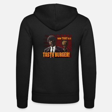 Cult tastyburger 90's cult movie design - Unisex Zip Hoodie