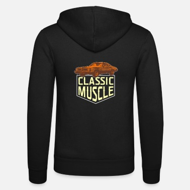 Muscle Classic muscle cars - Unisex Zip Hoodie