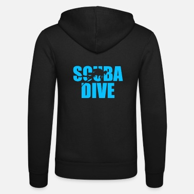 Scuba Scuba Dive Scuba Diving - Unisex hættejakke fra Bella + Canvas