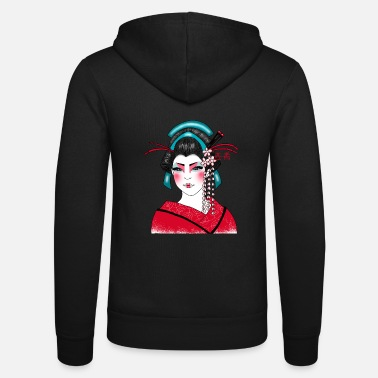 Japanese Art Geisha Japanese art - Unisex Zip Hoodie