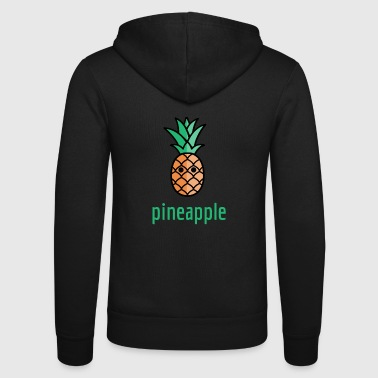 Pineapple pineapple - Unisex Hooded Jacket by Bella + Canvas