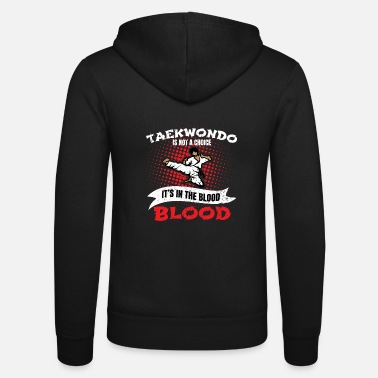 Taekwondo Taekwondo - Unisex Hooded Jacket by Bella + Canvas