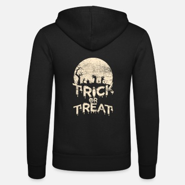 Trick Or Treat Trick Or Treat - Unisex Kapuzenjacke von Bella + Canvas