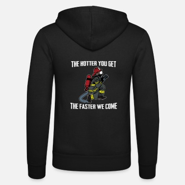 Fire Fire department cat fire department - Unisex Zip Hoodie