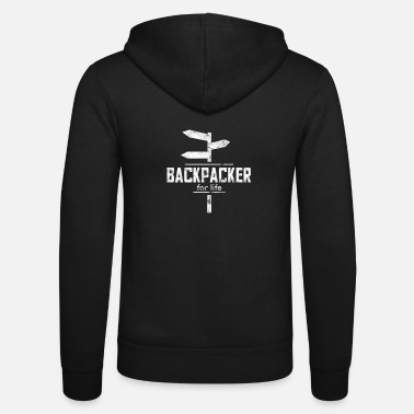 Skylt Backpacker skylt - Zip hoodie unisex