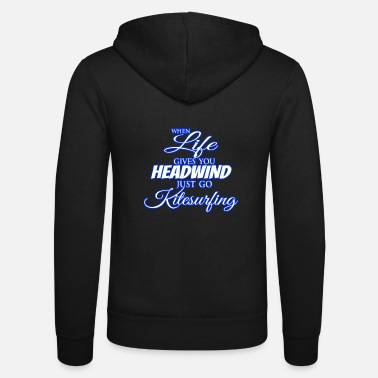 Headwind Kitesurfing headwind - Unisex Zip Hoodie