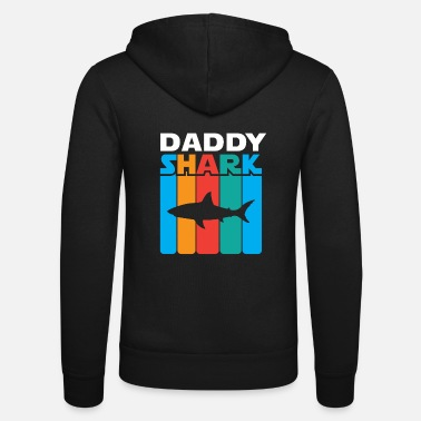 Daddy Daddy Shark - Unisex Bella + Canvas -hupputakki