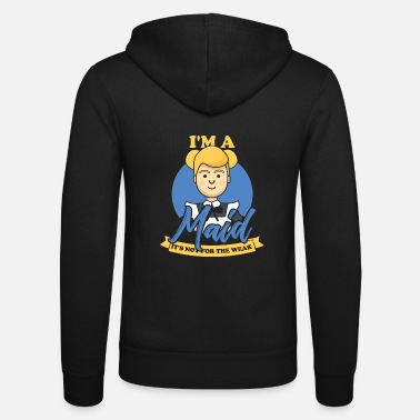 Housewife cleaning gift housekeeping - Unisex Zip Hoodie