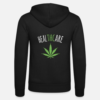 Cannabis THC is Healthcare Cannabis - Unisex hoodie van Bella + Canvas