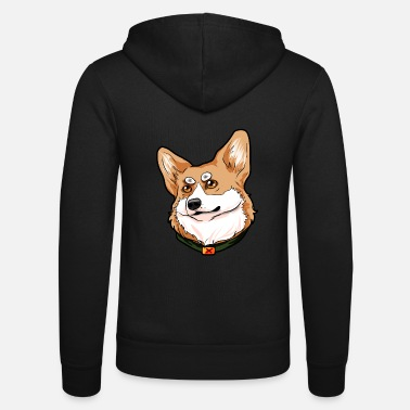 Welsh Pembroke Welsh Corgi Welsh dog Welsh - Unisex Zip Hoodie