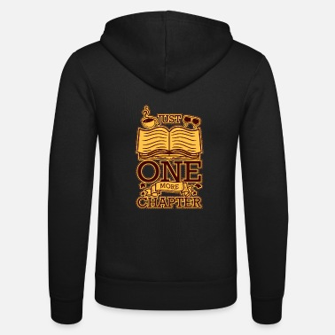 Just One More Chapter Funny Reader Gift - Unisex hoodie van Bella + Canvas