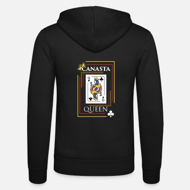Canasta Canasta design Gift for Card Game Players and - Unisex Zip Hoodie