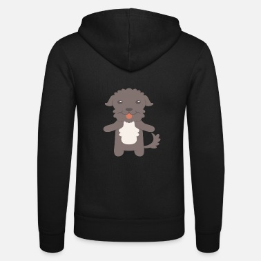 Water Portuguese Water Dog Gift Idea - Unisex Zip Hoodie