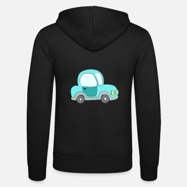 Kids Classic Small classic car for kids - Unisex Zip Hoodie