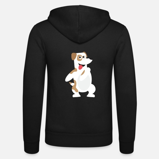 Motion Hoodies & Sweatshirts - Dancer float dance gift dance trend dance dogs - Unisex Zip Hoodie black