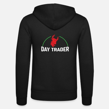 Tradition Day Trader Chemise de stock Trader - Veste à capuche unisexe