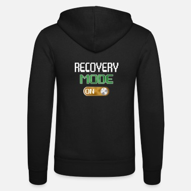 Mode Recovery Mode On Get Well Gifts Funny Injury Video - Unisex Kapuzenjacke