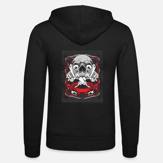 Tattoo Hoodies & Sweatshirts - Tattoo tattoo artist - Unisex Zip Hoodie black