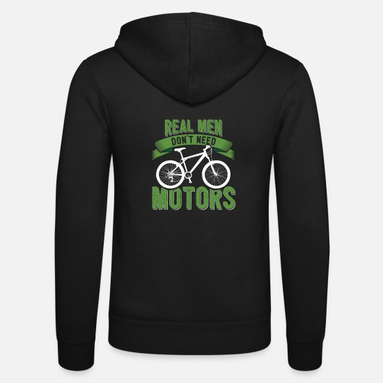 Bici Da Strada Felpe - Bike Mountain Bike Mountain E-Bike Regalo Divertente - Felpa con zip unisex nero