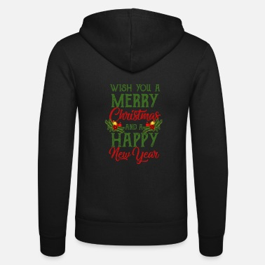 Wish You Wish you a ..... - Unisex Zip Hoodie