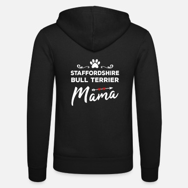 Staffordshire Staffordshire Bull Terrier Dog Mama With Hearts - Unisex hettejakke