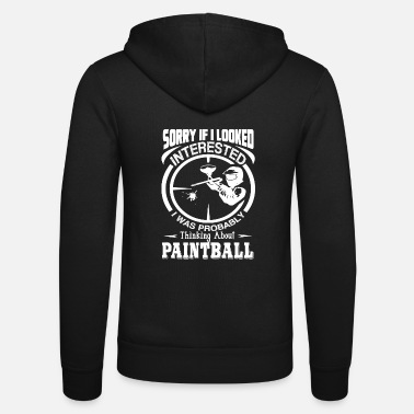Paintball Paintball Denken over Paintball - Unisex zip hoodie