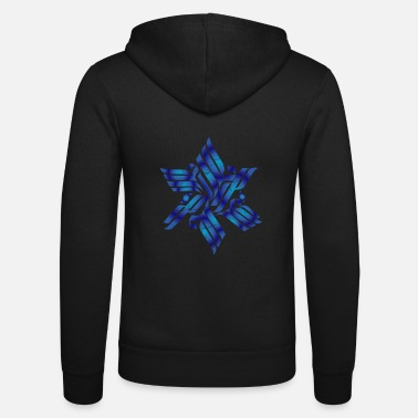 Sect Star of David Jew or reformer gift - Unisex Zip Hoodie