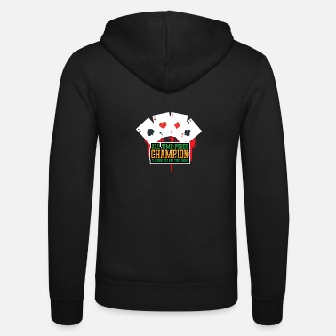 Holdem All time poker champion - Unisex Zip Hoodie