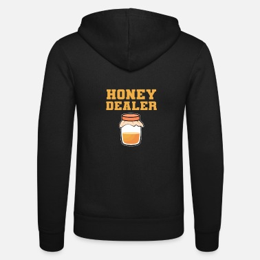 Honey Dealer Beekeeper Bee Lover Honey Nectar Gift - Unisex Zip Hoodie