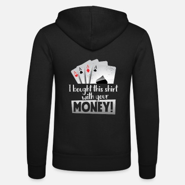 Vegas Funny Poker Casino Las Vegas Poker Night I Bough - Unisex hoodie van Bella + Canvas