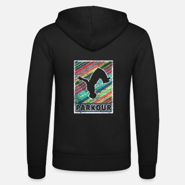 Parkour Freerunning Gift Le parcours - Unisex zip hoodie