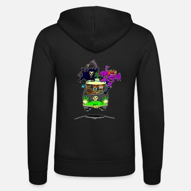 Scooby No Scooby fan art final - Unisex Zip Hoodie