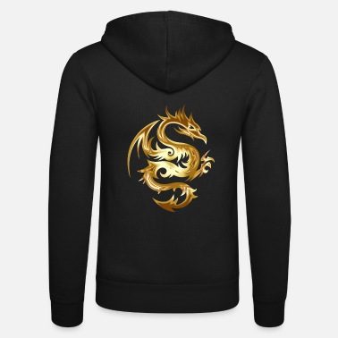 Golden Dragon Golden Dragon - Unisex Zip Hoodie
