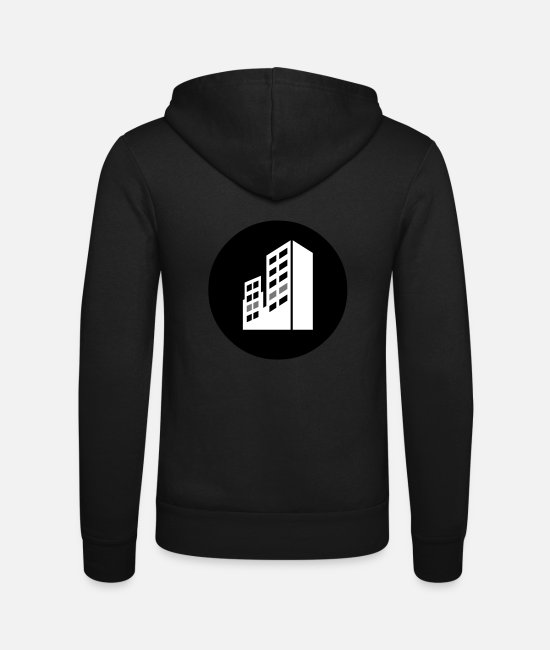 Rap Hoodies & Sweatshirts - Second Floor Hip Hop - Unisex Zip Hoodie black