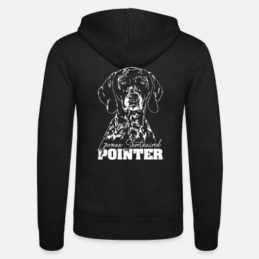 Pointer GERMAN SHORTHAIRED POINTER Wilsign's hunting dog Hunt - Unisex Hooded Jacket by Bella + Canvas