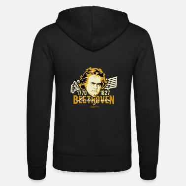 250th Birthday Beethoven 1770-1827 250th birthday 2020 - Unisex Zip Hoodie
