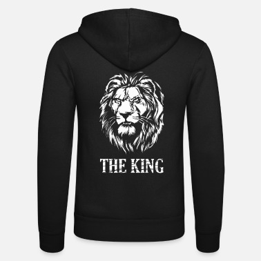 King Queen roi - Veste à capuche unisexe Bella + Canvas
