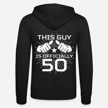 Birthday 50th birthday - Unisex Zip Hoodie