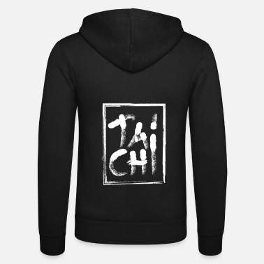 Tai Chi Tai chi - Unisex Hooded Jacket by Bella + Canvas
